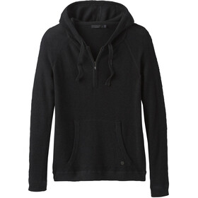 Prana Milani Capuchon Jas Dames, black heather